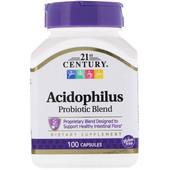 Смесь пробиотиков Acidophilus, 100 капсул