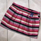 Стоп )новая ❤ Фирменная яркая полосатая юбка,48/50❤ Много лотов!
