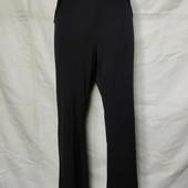 Свободные стрейчевые брюки с высокой посадкой