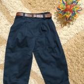 Стильные синие брючки чиносы Scruffs (England) для модника/модницы 2-3 лет. Люкс!