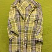 Летняя рубашка, очень уютная:) Качество и комфорт! Пог 63_состояние отличное