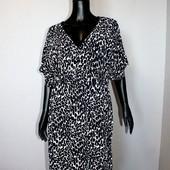 Качество! Летнее, очень комфортное платье в мелкий принт от бренда Asos в новом состоянии, р.16+-