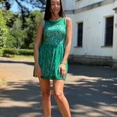 Очень нежное кружевное платье с красивой спинкой