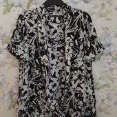 Красивая блуза в цветы !