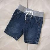 Стоп ) в отличном состоянии❤ Фирменные стильные джинсовые шорты для мальчика,до года❤ Много лотов!