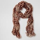 ☘ Чудовий гофрований шарф від Tchibo (Німеччина), розмір: 200 х 50 см
