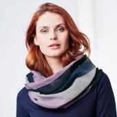 ☘ Шикарний шарф-шаль від Tchibo (Німеччина), розмір універсальний, 80х90см