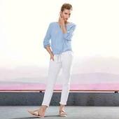Белые джинсы обалденный крой