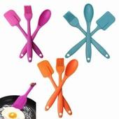 набор для кухни 3в 1 (кисточка,лопатка,ложка).