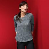 ☘ Блузка з довгими рукавами від Tchibo (Німеччина), наші розміри: 46-48 (40/42 євро)