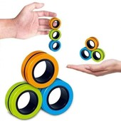 Магнитные кольца Trick Rings, антистресс для рук, спиннер нового поколения
