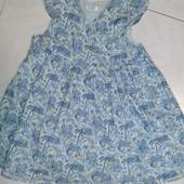 ♥️Фирменное♥️летнее платье Bout'chou на девочку 18мес, 81см