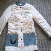 Куртка женская LEKA , бежевая, 42 р