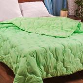 Летнее бамбуковое одеяло на тонком утеплителе. 160*220, 180*220, 200*220 см