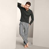 ☘ Чоловічі штани для сну і відпочинку з органічної бавовни від Tchibo (Німеччина), р.: 60-62 (ххL ев