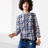☘ Фланелева стильна і м'яка сорочка, 100% бавовна, Tchibo (Німеччина), розміри наші: 48-50 (42 євро)