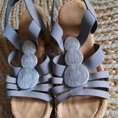 Rieker. Очень удобные текстильные сандали босоножки на широкую ногу