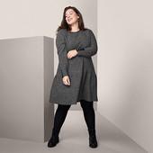 ☘ Шикарна якісна сукня з м'якої текучої тканини Tchibo (Німеччина), р.: 58-60 (52/54 евро)
