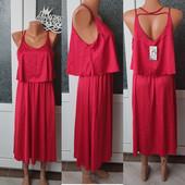 Сукня червона, міді, розмір м/л