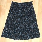 Стрейчевая юбка-миди в мелкий цветочек, MEXX, р. М