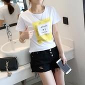 женская футболка First nice