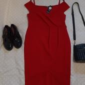 Стильное новое красное платье ! УП скидка 10%
