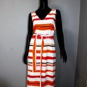 Качество! Натуральное макси платье от Principles Petite, в новом состоянии, р.16+-