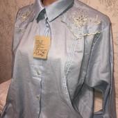 Раритет ссср , блузка с вышивкой р.54/56