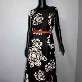 Качество! Шикарное макси платье от британского бренда Bonmarche, новое состояние/без пояса