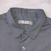 Стоп )в отличном состоянии❤ Фирменная стильная рубашка в полоску,4-5 лет❤ Много лотов!