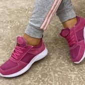 Женские/подростковые кроссовки-замш +текстильная сетка.