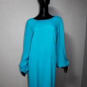 Качество! Шикарное супер легкое платье от Sophie Gray/цвет темнее-бирюзовый, новое состояние