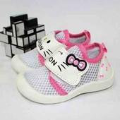 Стильные лёгкие дышащие летние кроссовки на малышек (размер 21-23)