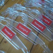 Плечики вешалки тремпеля (цена за 10 штук)в наличии можно докупить по цене выигранного лота