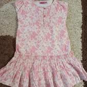 Шикарное платье в новом состоянии! 5-6лет
