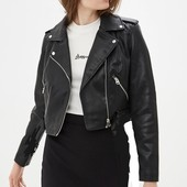 Летняя цена! Крутая куртка косуха из эко-кожи Dorothy Perkins