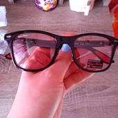 Фирменные полупрозрачные солнцезащитные очки Ray flector