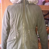 куртка, на осень, 10-11 лет 146 см, H&M Logg. состояние отличное