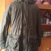 Куртка. еврозима, р. XL, Blue motion. состояние отличное