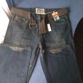 Фирменные джинсы с ремнем( George), р.XL/2xl