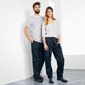 ☘ Функціональні водо-, ветронепроніаемие брюки зі світловідбивачами Tchibo, р. наш: 56-60 (2ХL євро)