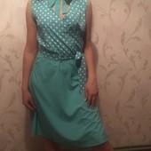 нежное платьице на 48р.одето 1 раз.Идеал