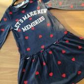 брендова сукня на 7-8 років