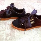 Оригинальные кроссовки Puma из велюра