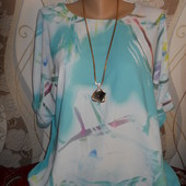 Женская летняя блузочка р.52-54