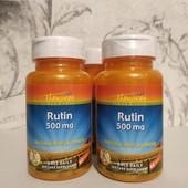 поддержка сосудов и капилляров - Рутин (Rutin) 500 мг 60 штук, Thompson