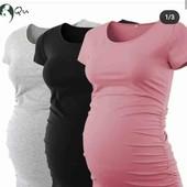 футболочка или маечка для беременных. 42-54