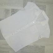 Шкільна коттонова блуза на 10 років