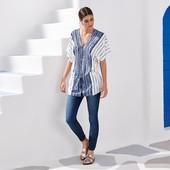 Легкая блуза/туника от Tchibo Германия размер евро 40/42 (укр 46\48)