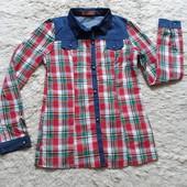 Рубашка для девочки 14 лет